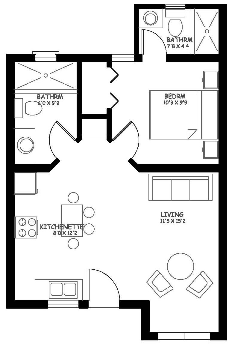 One Bedroom Casita 1/2 Expansion for $5,000USD additional