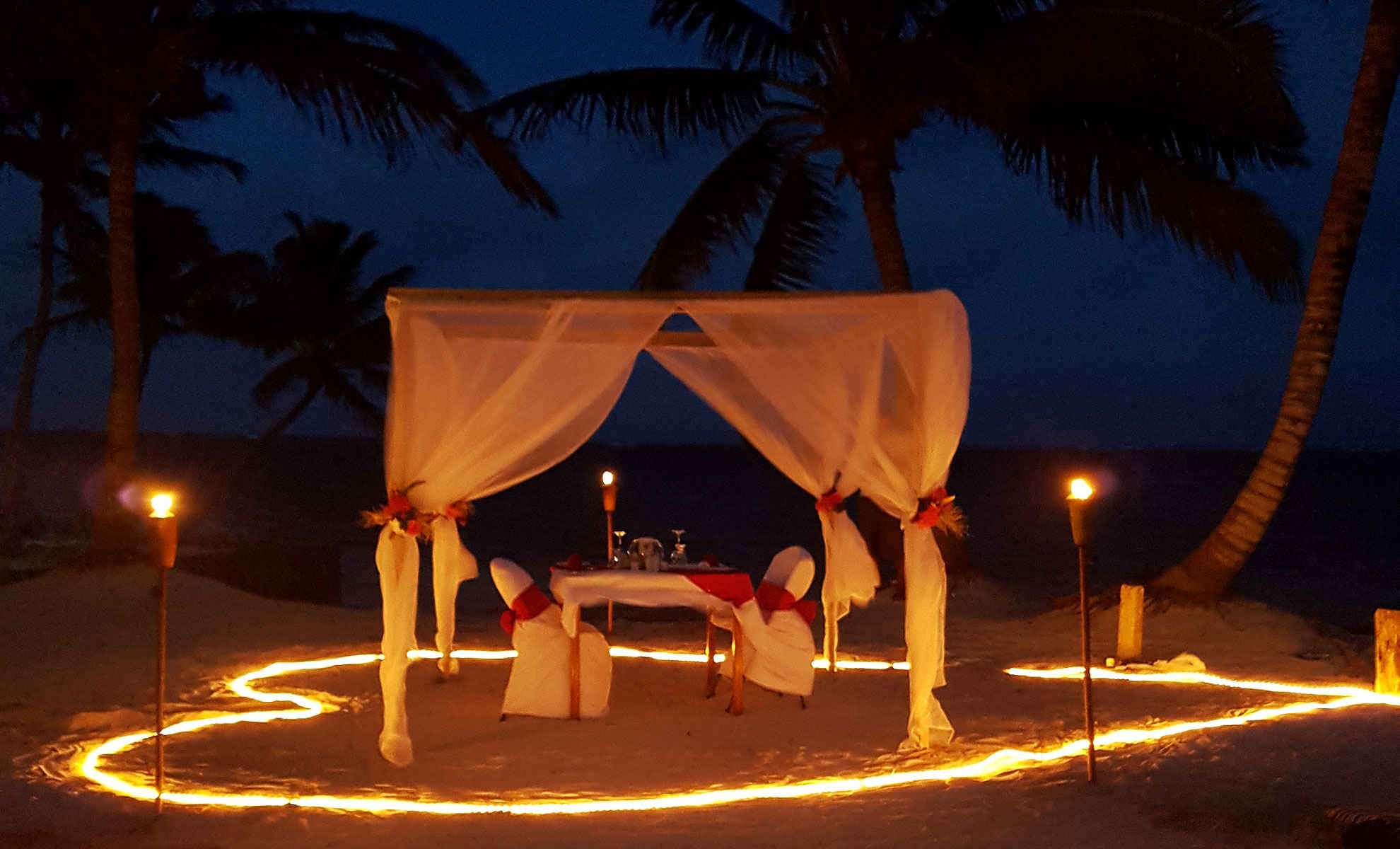 Romantic Dining -
