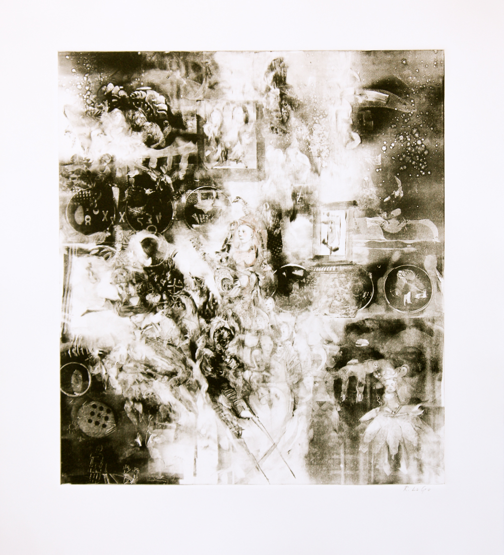 "Troubadour, 19""x17"", 2015"