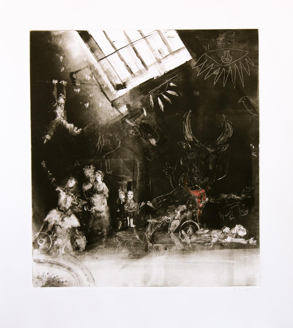"""Picasso's Dream, 19""""x17"""", 2015"""