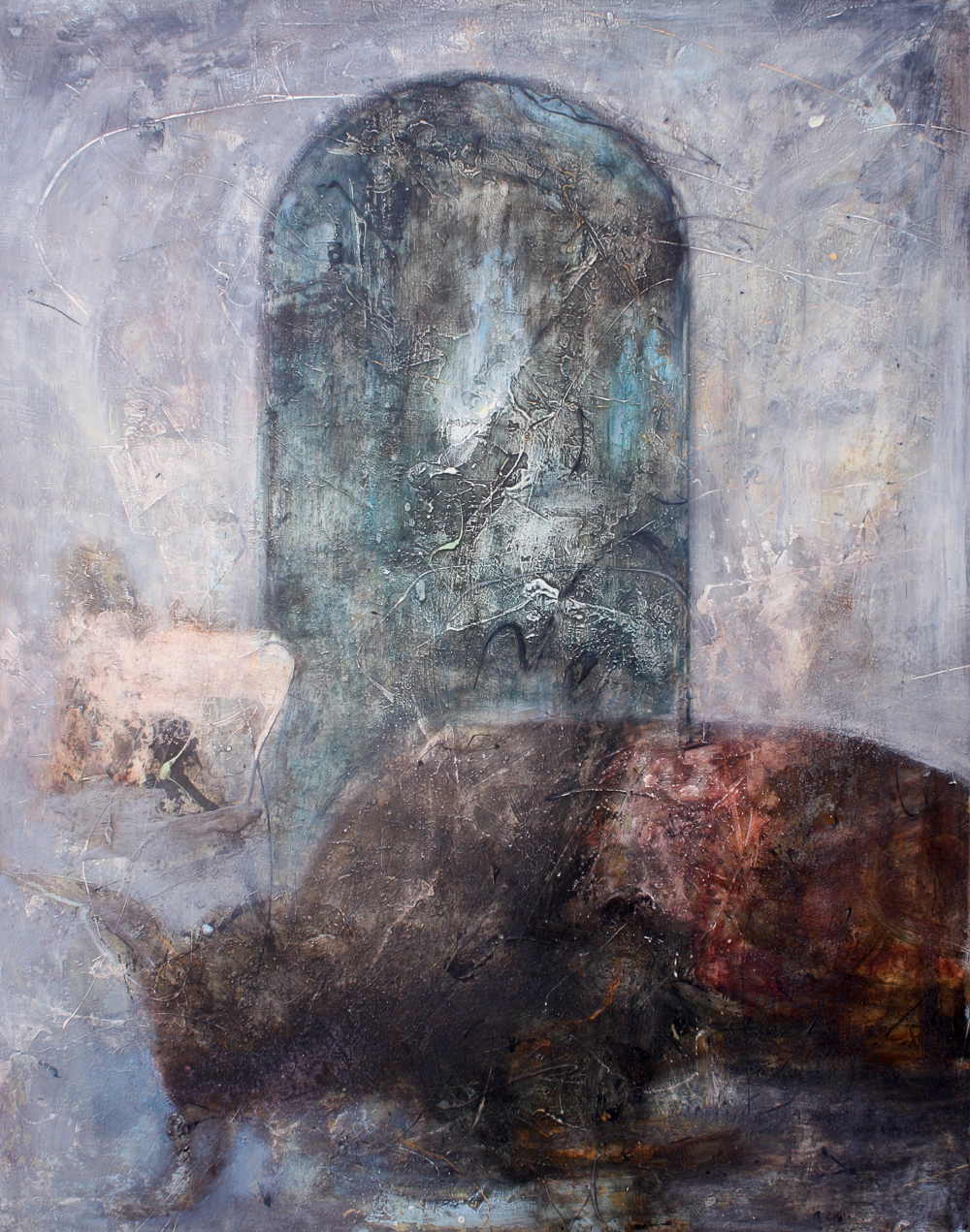"""The Source of Strength, 60""""x47"""", 2005"""