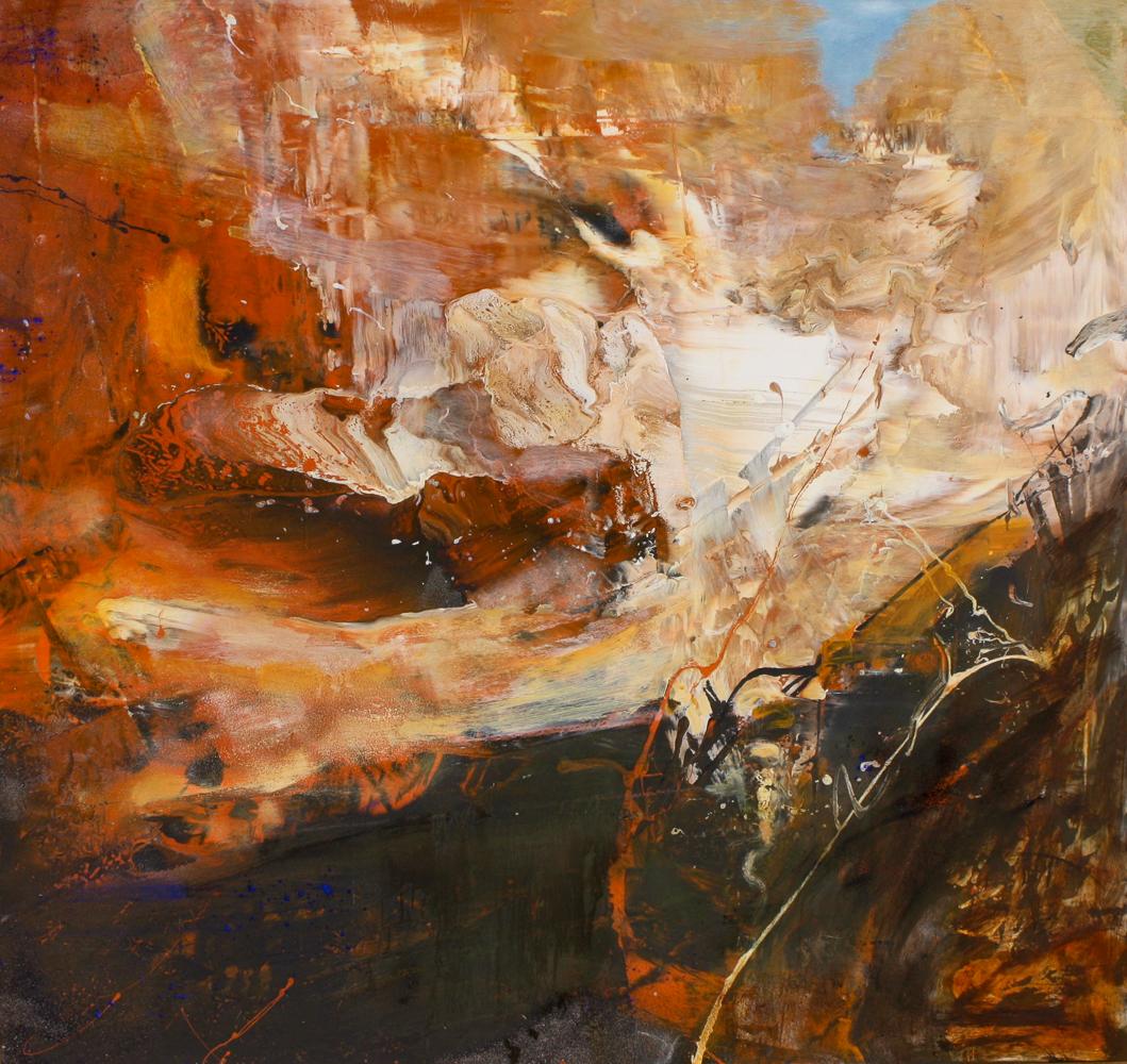 """Canyon, 45""""x47"""", 2010"""