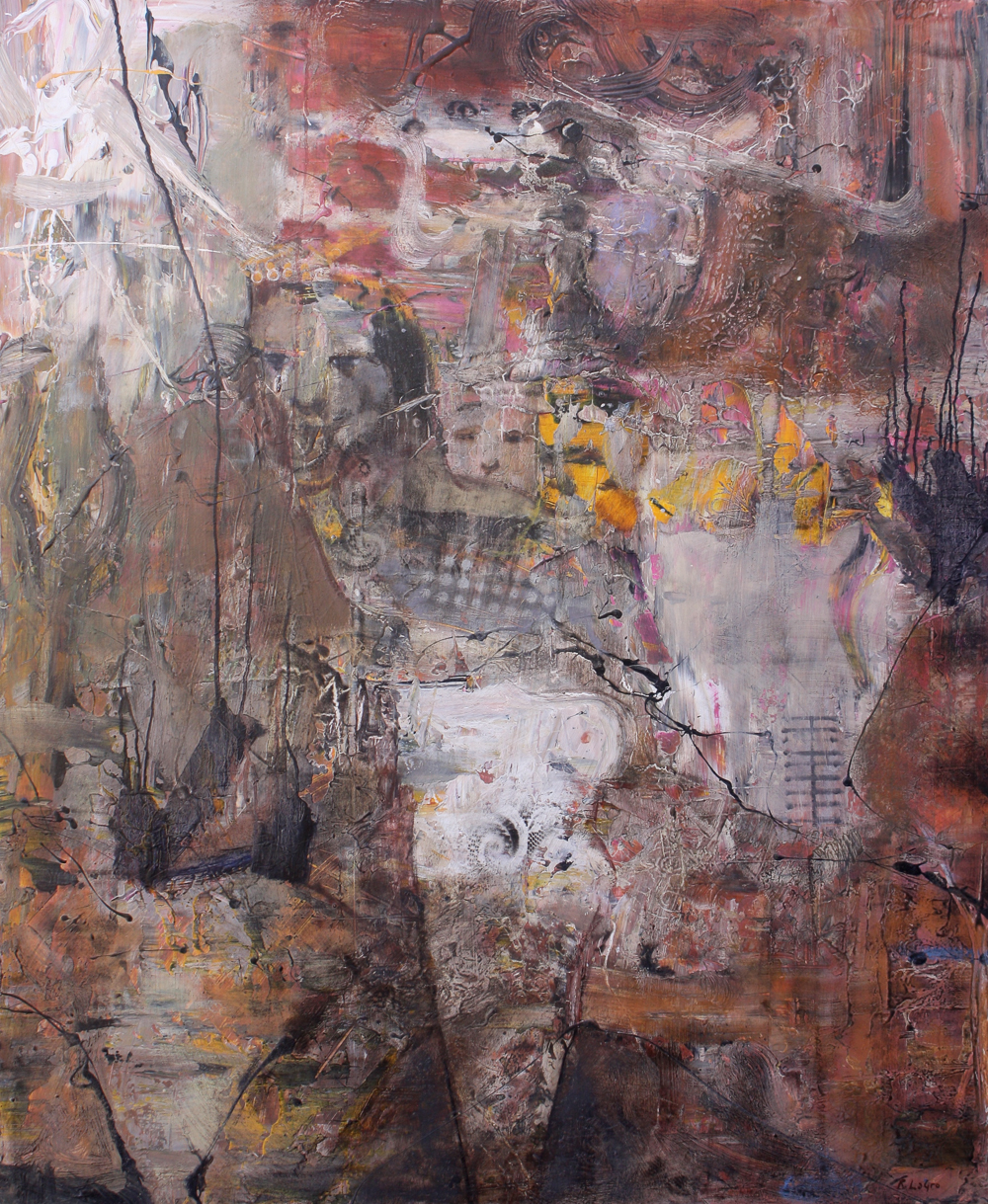 """In the Course of History, 45""""x37"""", 2010"""