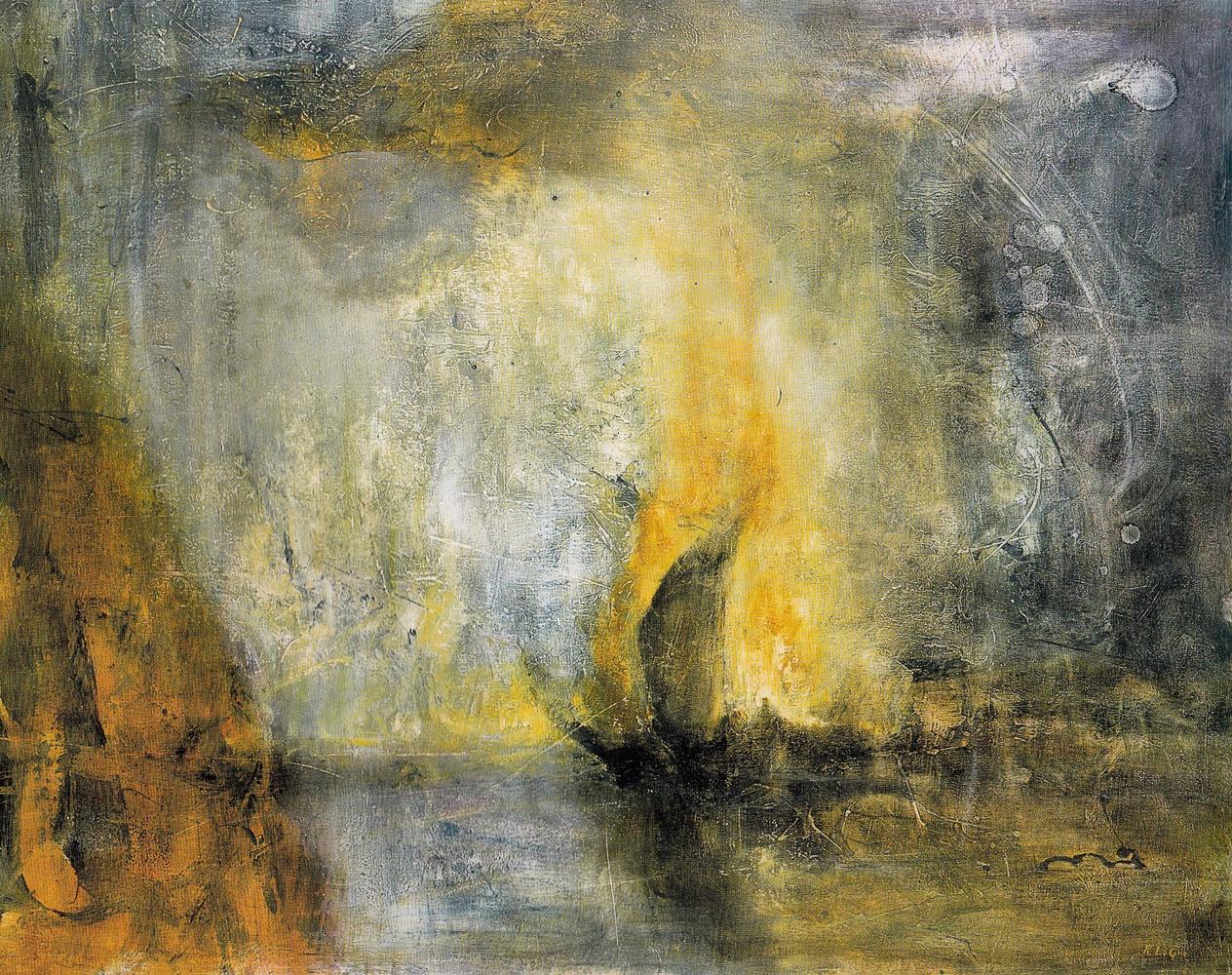 "The Watermen, 40""x50"", 2004"