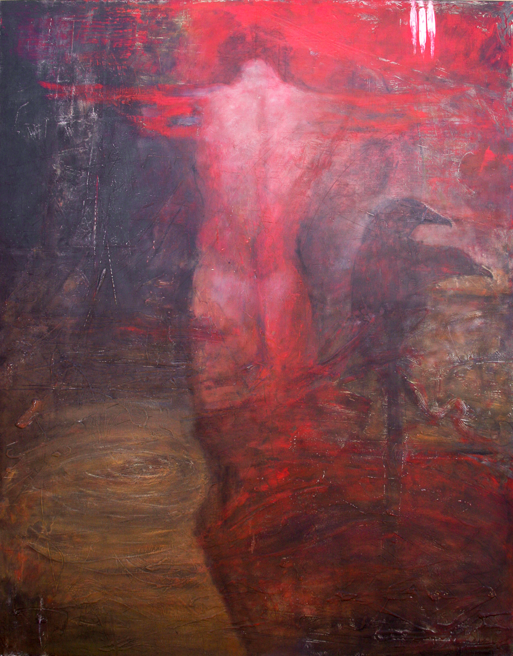 """The Brave and Surrendered Heart, 60""""x47"""", 2007"""