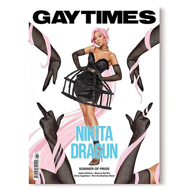 So honored to shoot and illustrate this iconic @gaytimes cover and spread with the number 1 pu$$y $tunting queen, miss @nikita_dragun. Thanks to an amazing team! More images to follow! Pick up your issue NOW!  Photography and illustration @randydrosario Fashion @joeythao Hair @ariannachayleneblean Makeup @glamtechstevent Post/retouching @brightyellowhouse . . . . . . #gaytimes #cover #iconic #nikitadragun #nikita #illustrate #kawaii #japan #anime #randydrosario