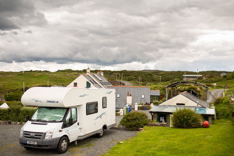 Travers Holiday Park, Co Donegal Campsites, S Ireland