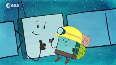 Rosetta Mission Artwork.Credit - ESA
