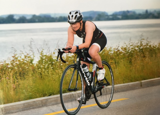 SOFIA preparing for a triathlon 2016