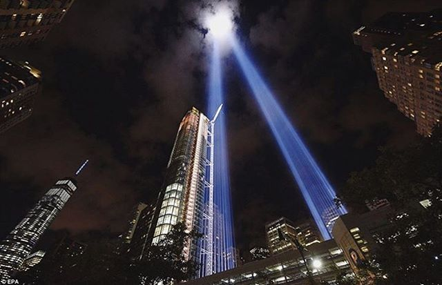 """9/11. I was so confused as to why my morning class had been cancelled at Berklee. On the way back to my dorm, standing at the big clock tower on Mass Ave and Boylston St., my friend Mike ran past me and screamed """"we're under attack!!"""" No one knew who or what was next. We all spent that entire day terrified, crying, and in disbelief. The cell phone networks were locked up and I remember so many friends who were unable to find out if their loved ones in New York were ok. But we are America. And no matter how divided we can be, we were all united that day. We remember those that died. We grieve for those that were taken too soon and left their families behind. We strive to make this a better place and be more united than divided as we move forward. On this day of remembrance, I pray the spirit of unity can carry us stronger into tomorrow. #GodBlessAmerica🇺🇸 #911"""