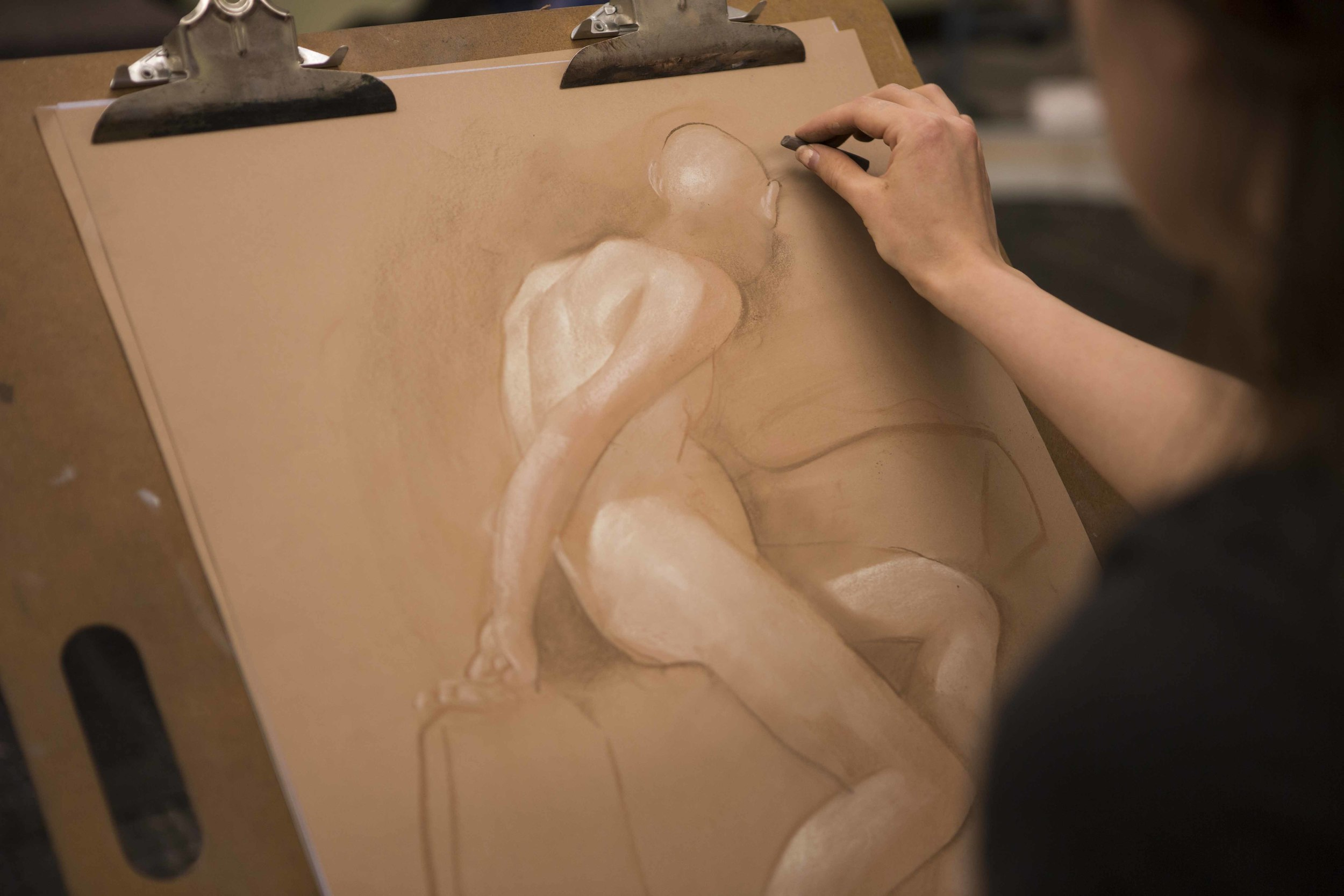 Figure Drawing Night Summer Workshop 2015