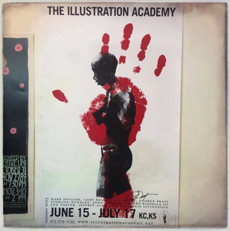 I was honored to have my image on the Academy poster last year.