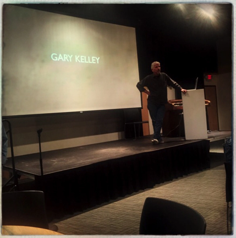 Gary Kelley lecture.