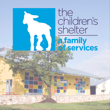 The Children's Shelter San Antonio   The premier agency in South Texas, transforming the lives of children and families. Their mission is to restore innocence and strengthen families.