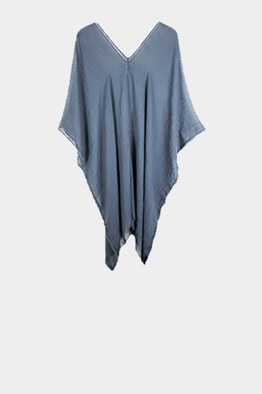 'STORM' GREY LUXE PONCHO