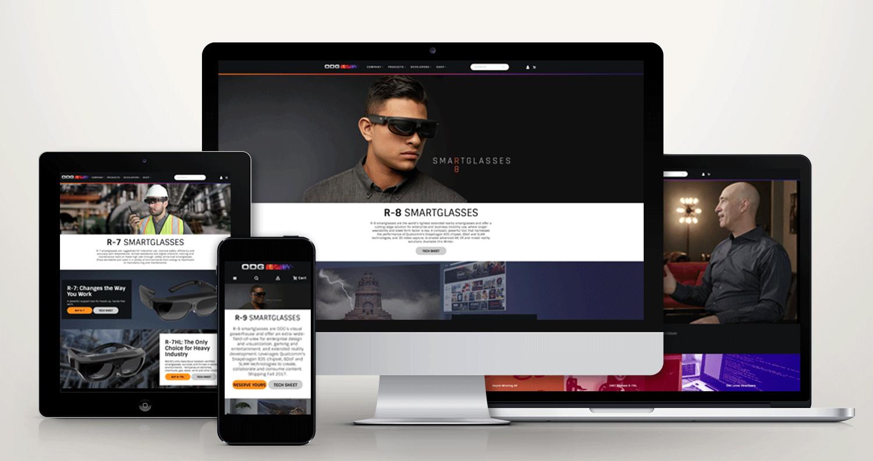Website Re-Design: Asset Creation, Web Navigation, Copy