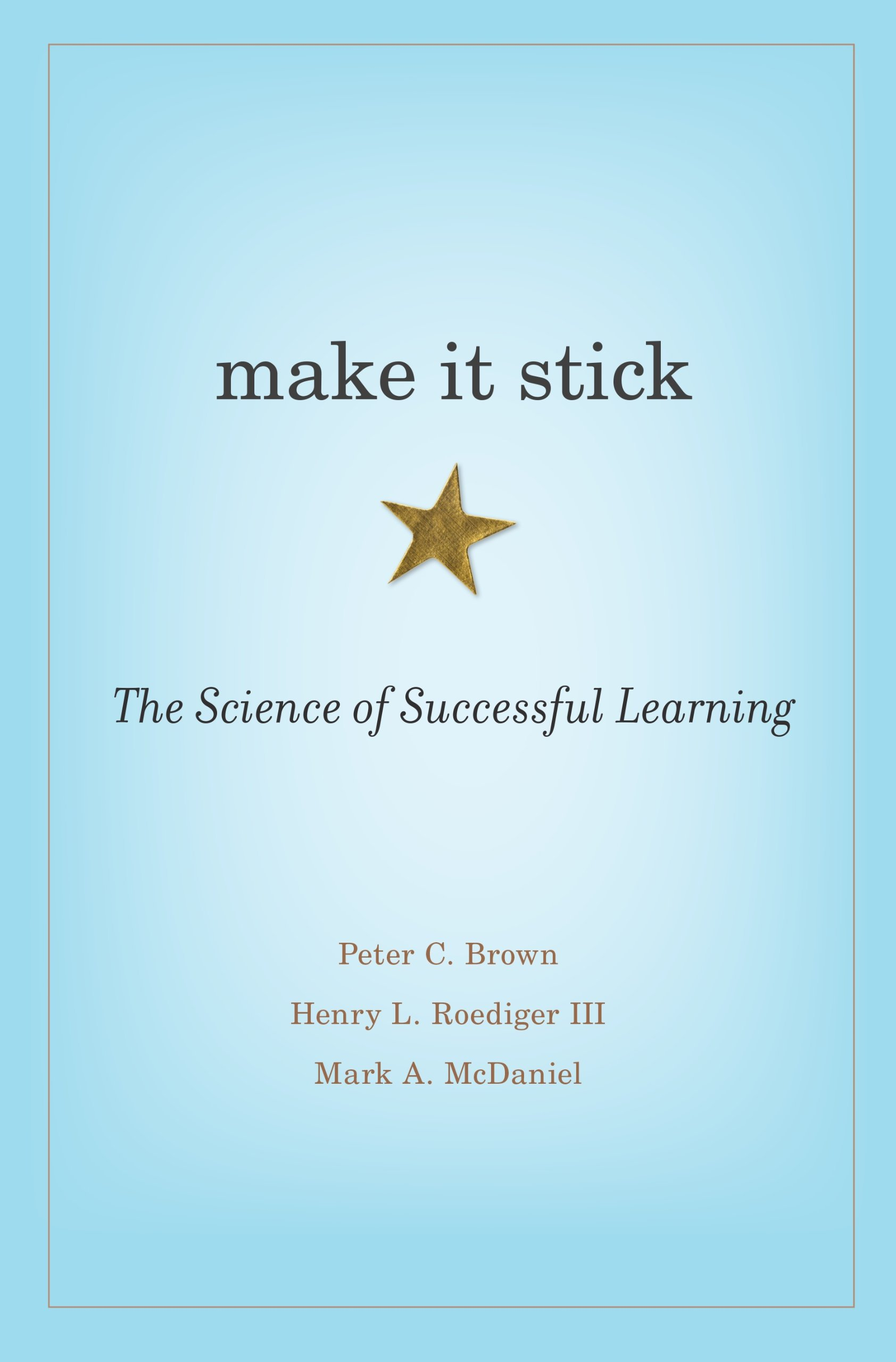 make it stick the science of successful learning free download