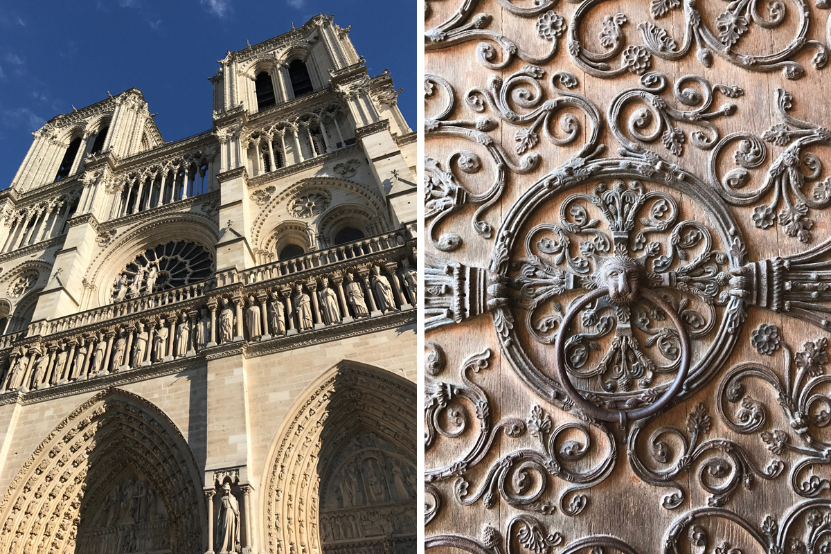 Notre Dame close up!