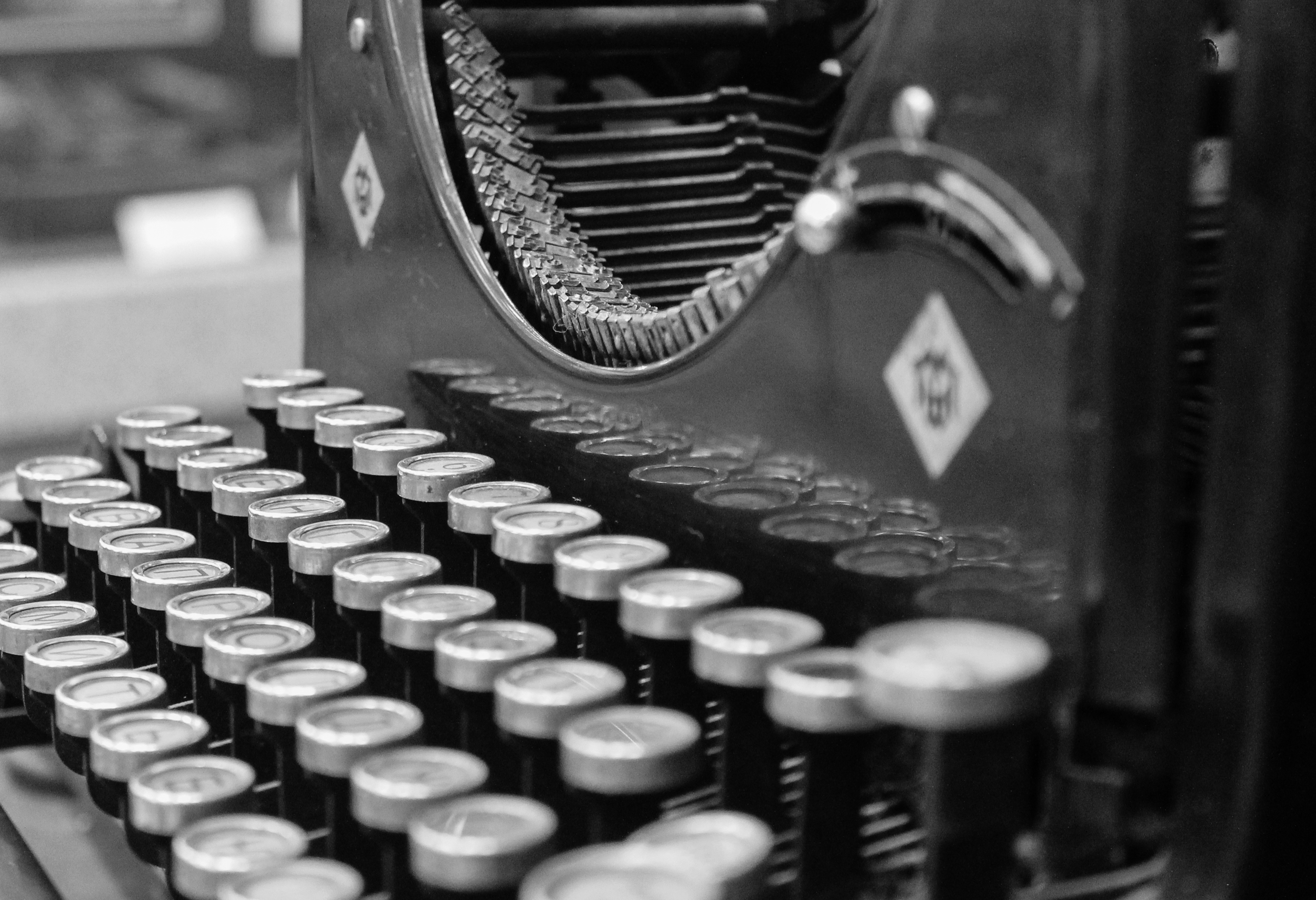 maybe not on a typewriter, but whatever floats your boat (is that a metaphor?)