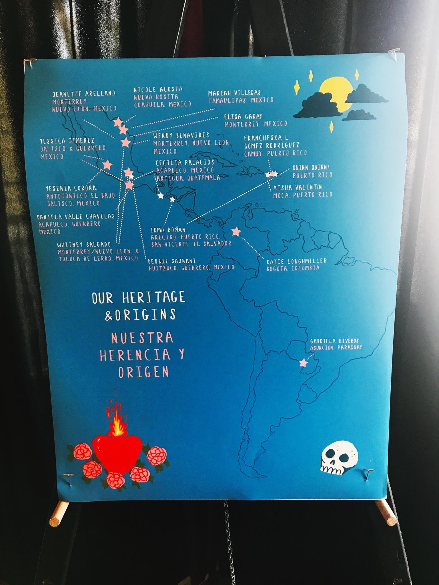 LUNA Heritage poster by Gabriela Riveros