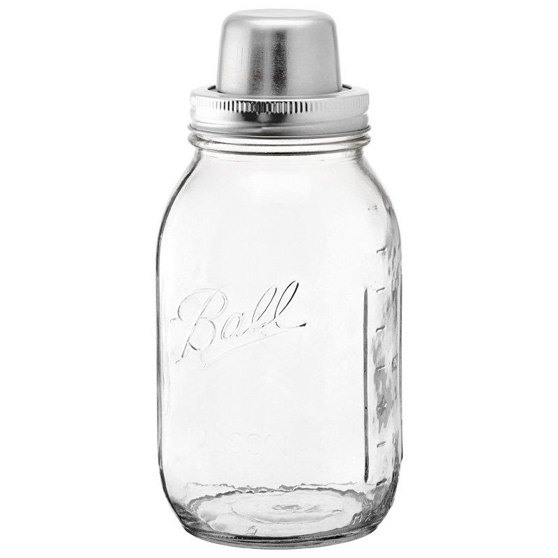 $29.50 CAD  Mason Jar Cocktail Shaker