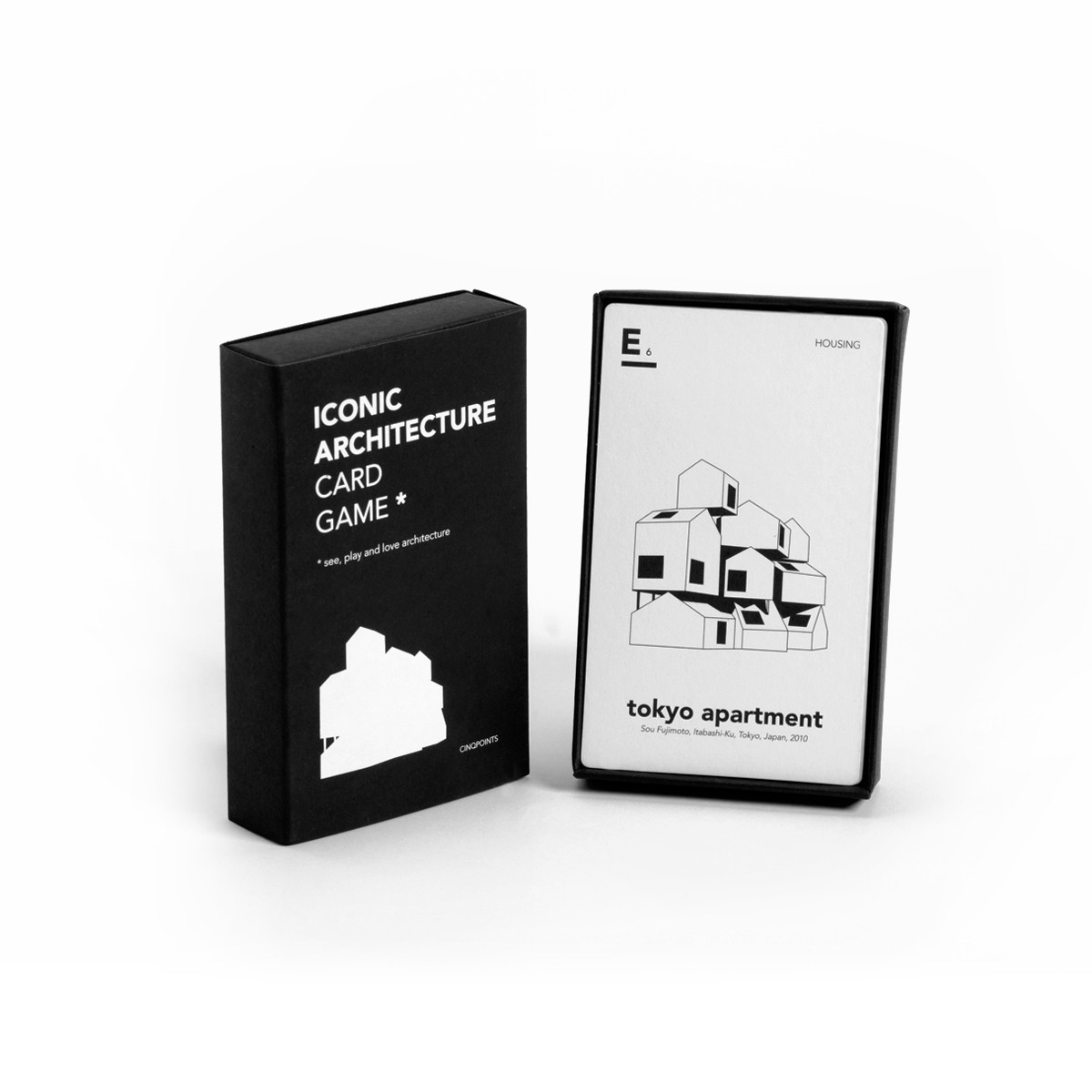 $12 - Iconic Architecture Card Game