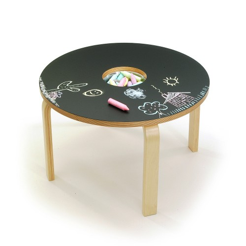$499  Woody Chalkboard Table