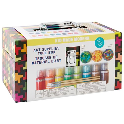 $34.95  Kid Made Modern Art Supplies Tool Box