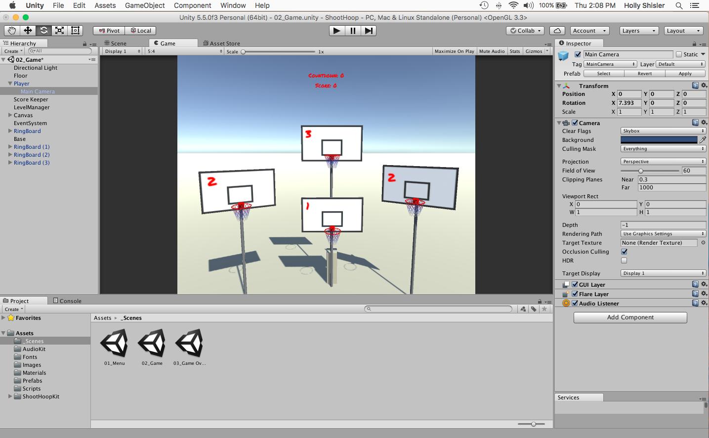 Learning Unity for VR Design