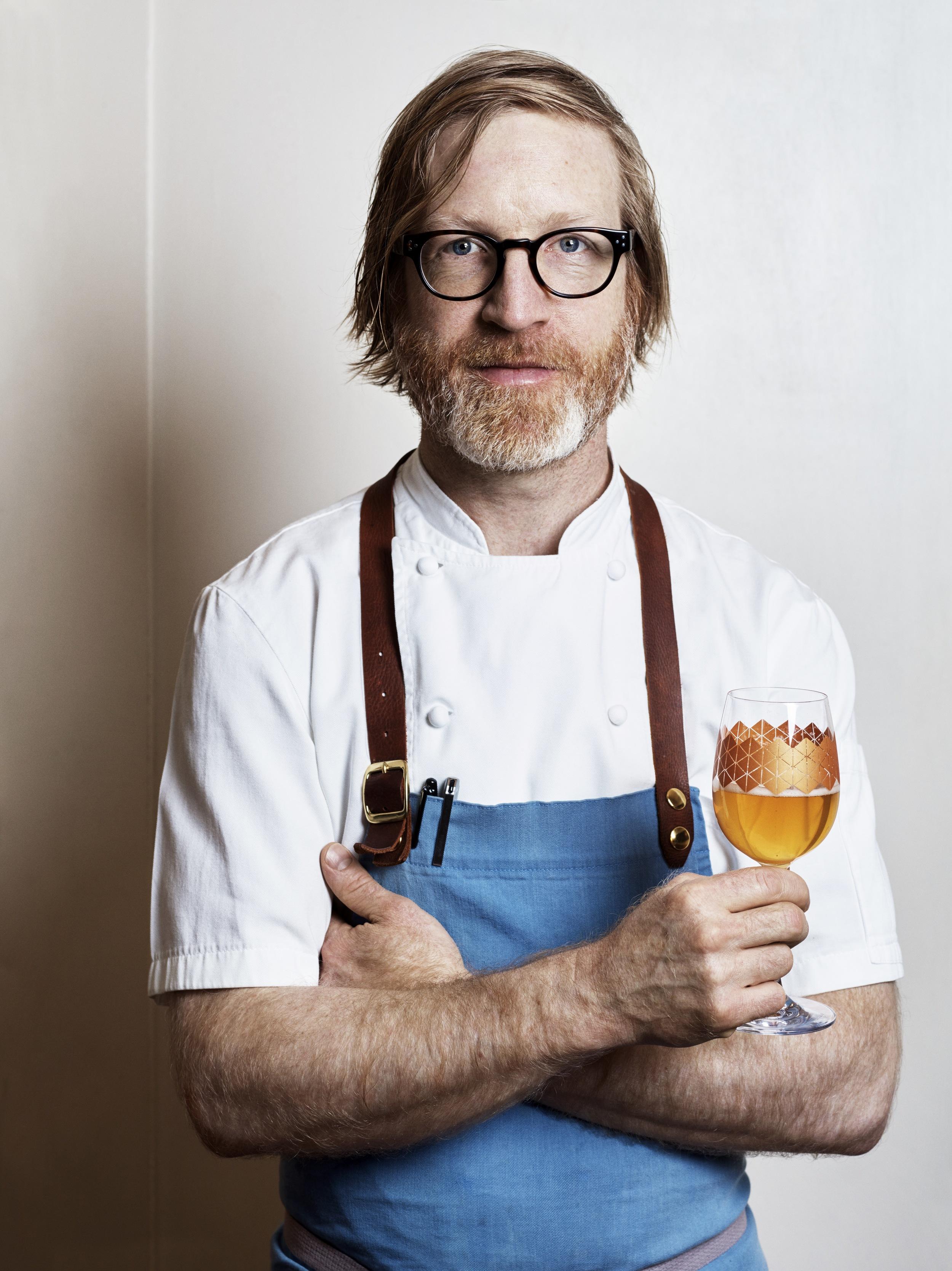 Chef Daniel Burns of Luksus NYC