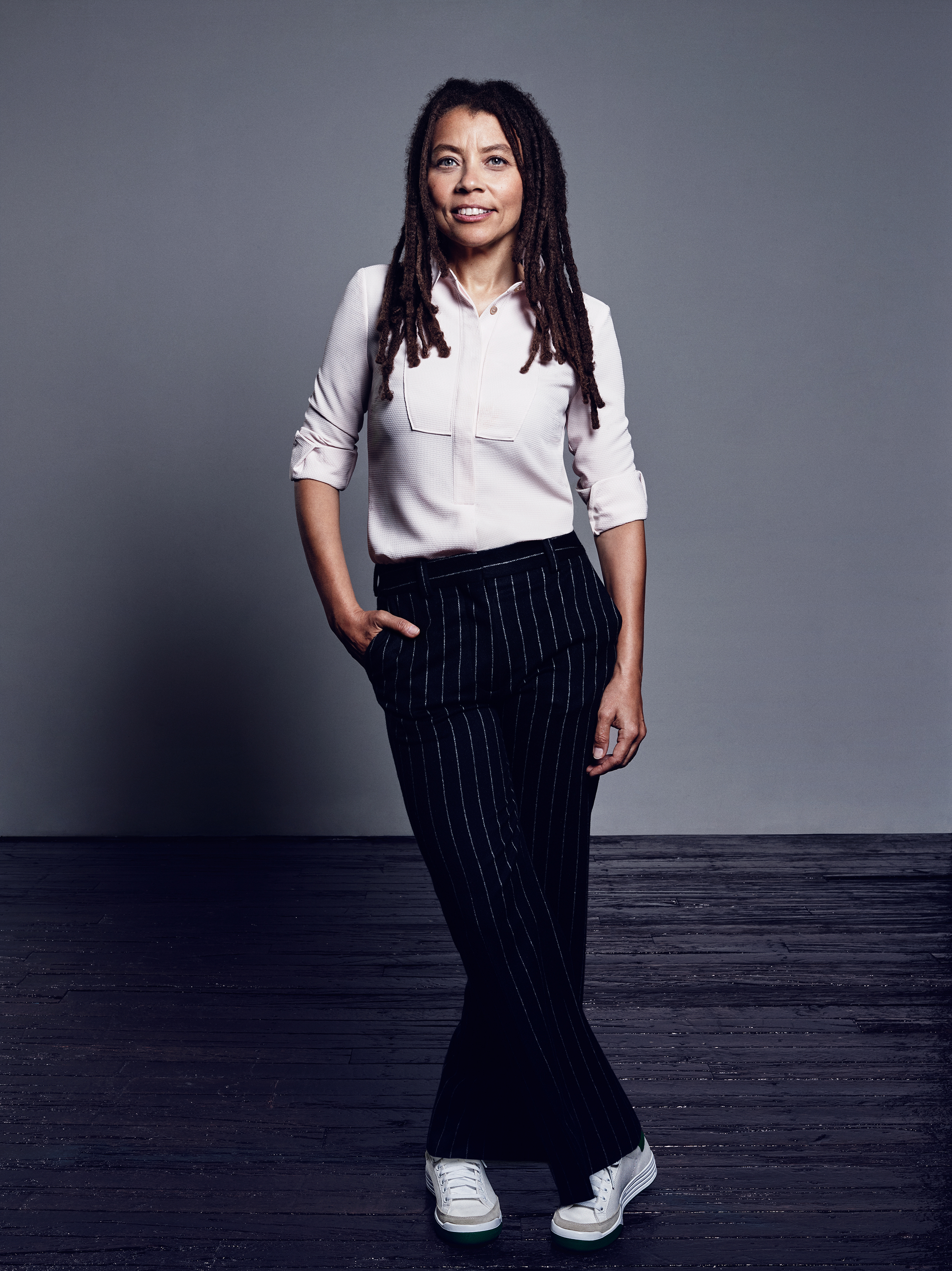 Kia Corthron, playwright and novelist, for Elle US.