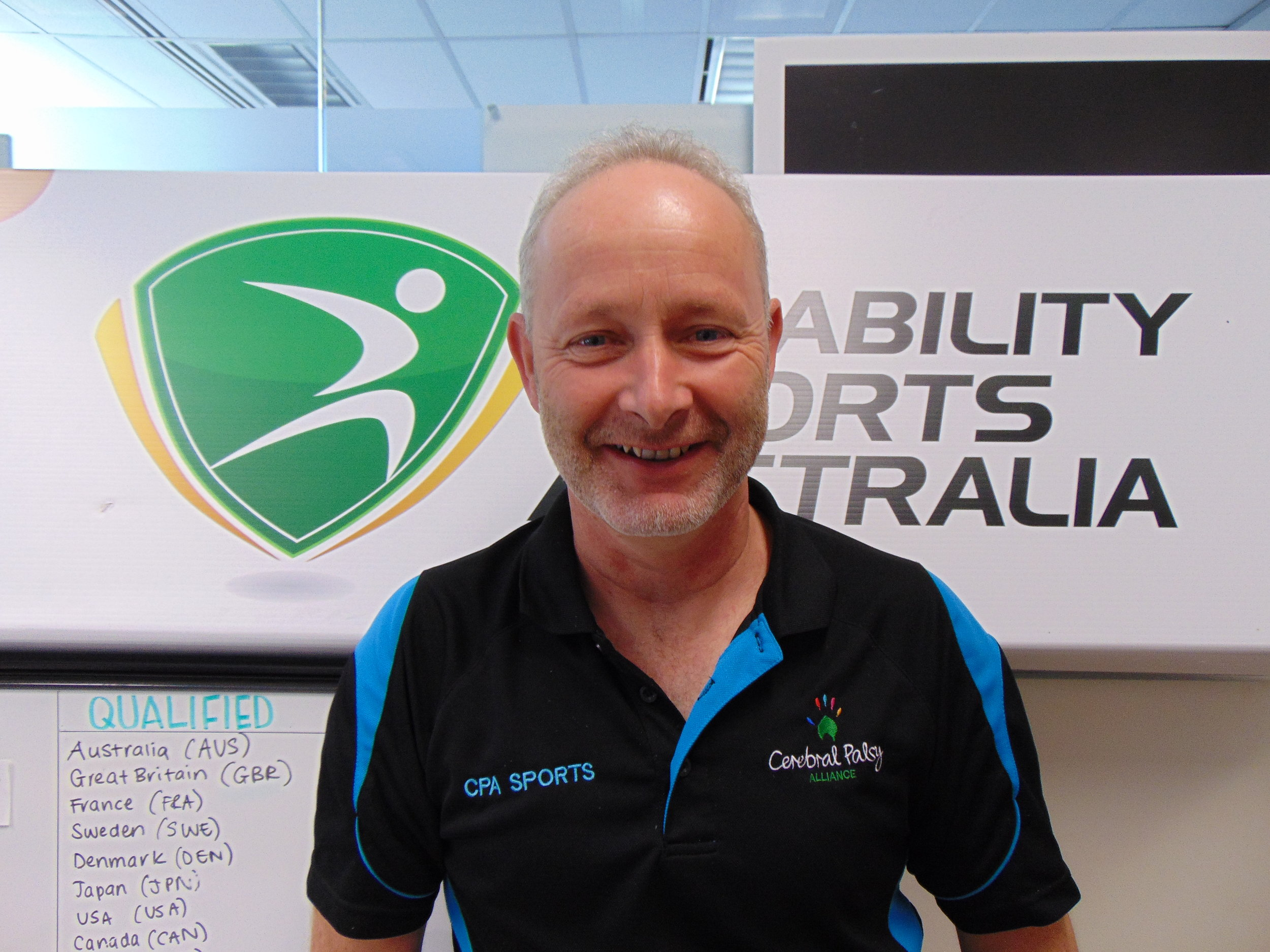 Team Manager - Peter King