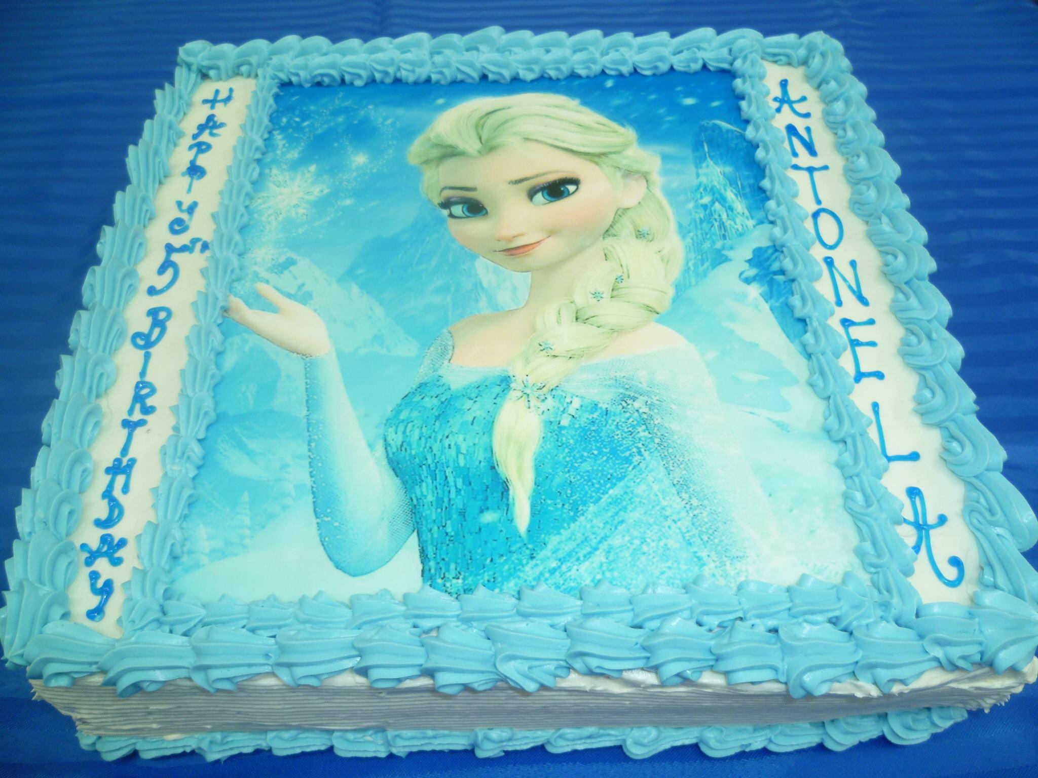 Gâteau d'anniversaire rectangulaire à motif imprimé 06