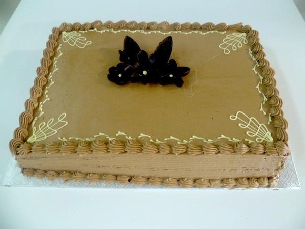 Gâteau classique carré 02