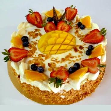 Gâteau aux fruits 03