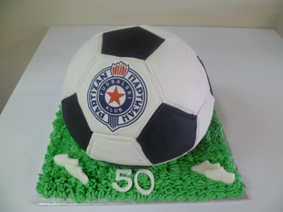 Gâteau en forme de ballon