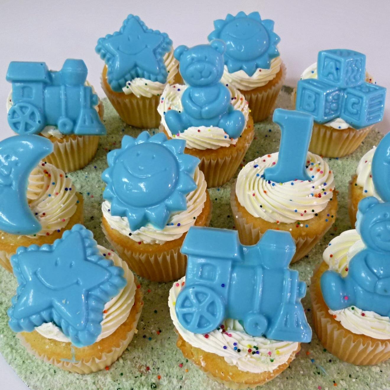 Nos petits gâteaux peuvent être décorés pour convenir àtoutes les occasions.
