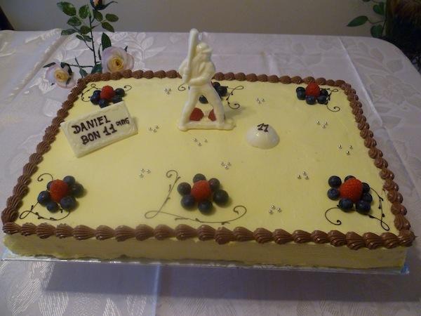 Gâteau classique rectangulaire 01