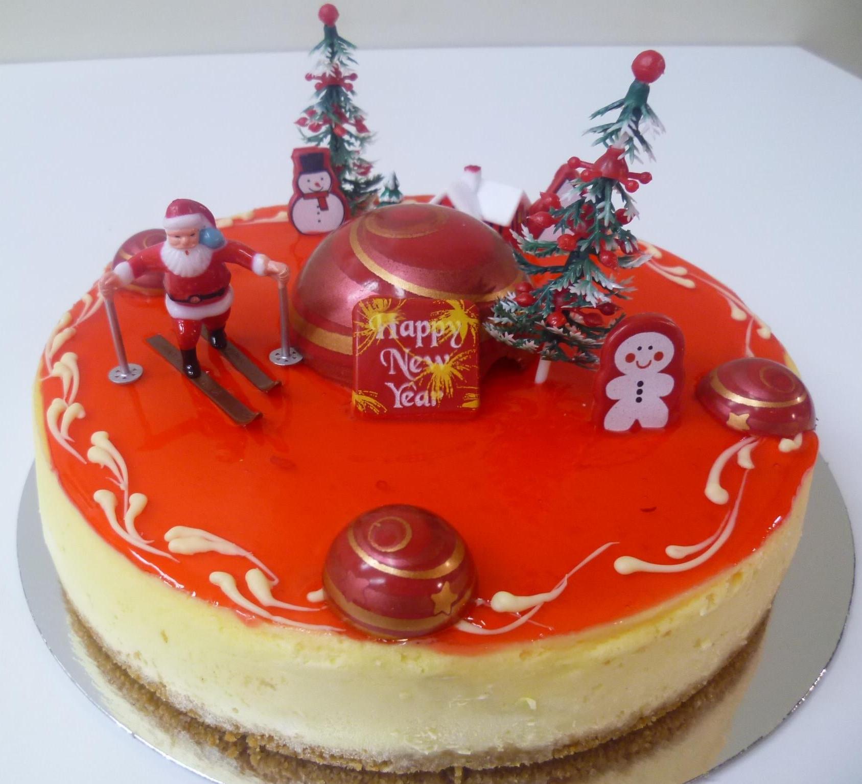 Gâteau de Nöel 1