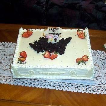 Gâteau classique carré 03