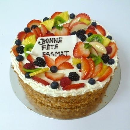 Gâteau aux fruits 07