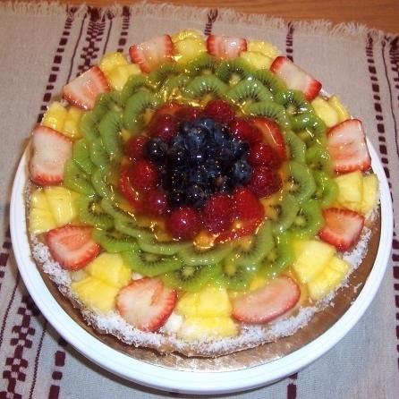 Gâteau aux fruits 06