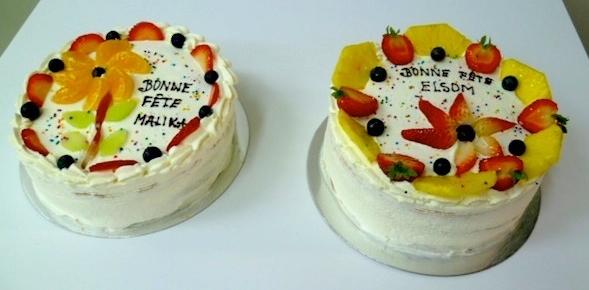 Gâteau aux fruits 04