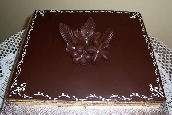 Gâteau classique carré 05