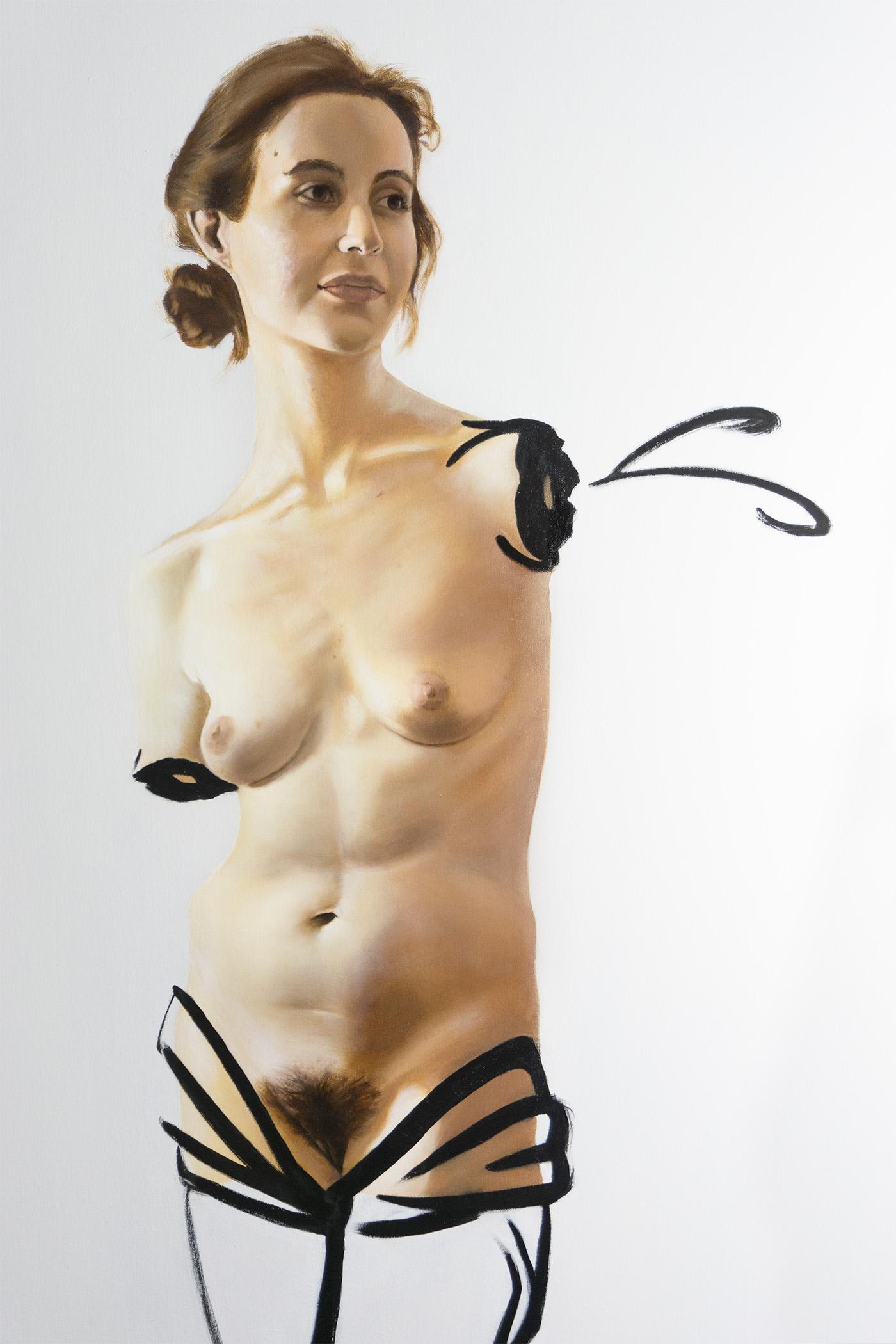 Detail: Venus in Ferns