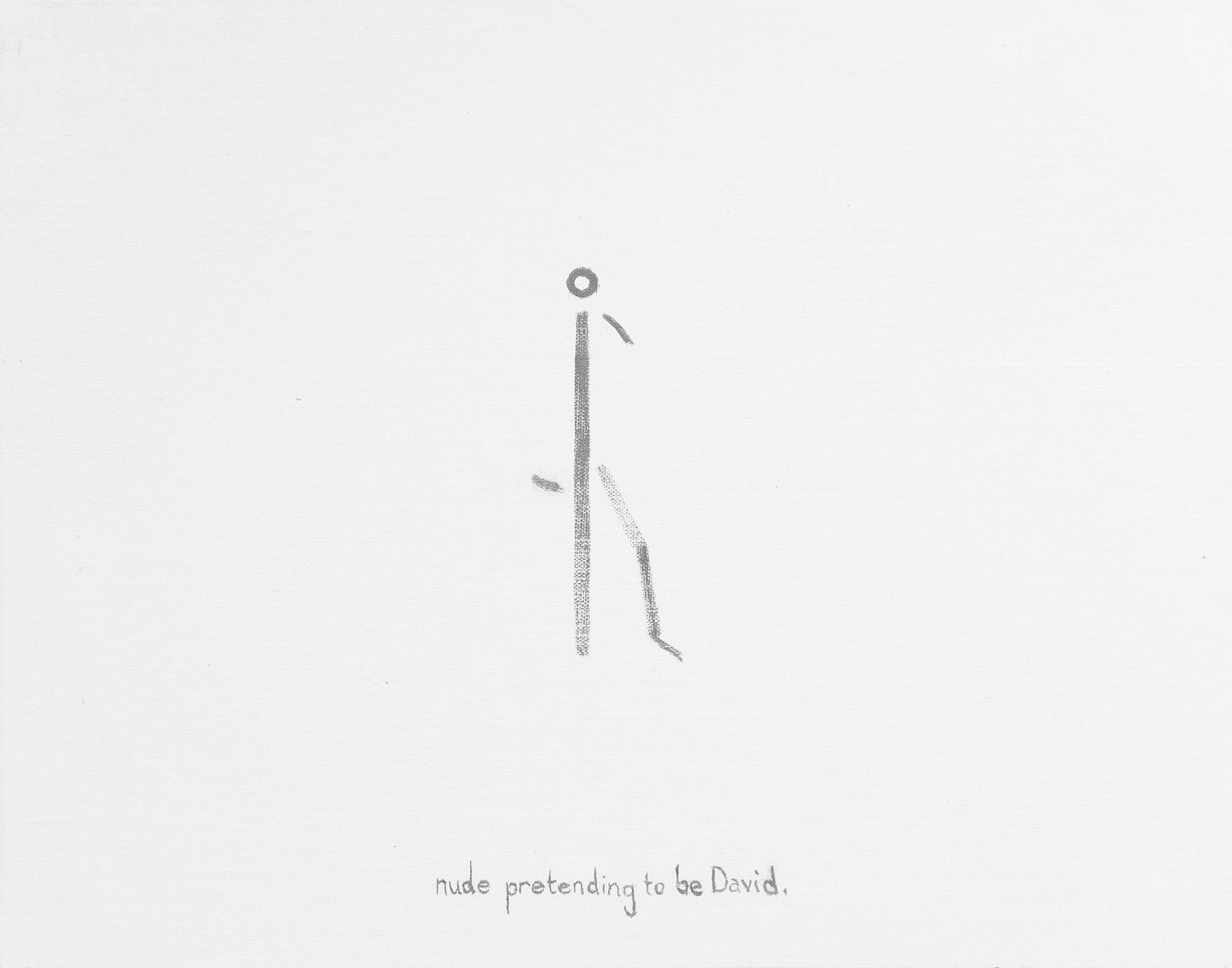 Nude Pretending to be David
