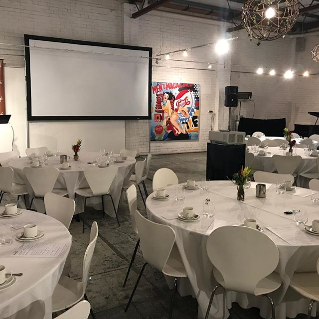 A fabulous event for #babyology yesterday @smartartzgallery #smartartzgallery #corporatebreakfast #corporateevents #breakfast #conferencevenue #conferences #weddingfun #weddingwarehouse