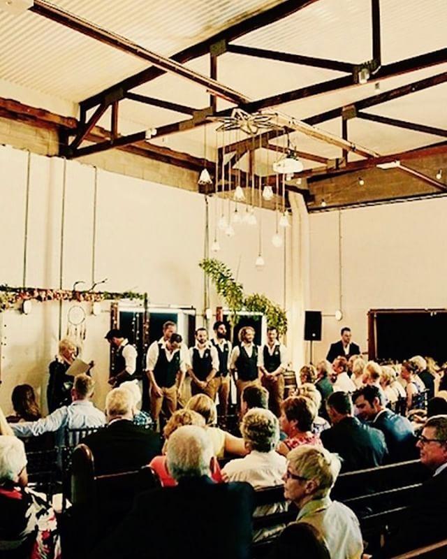 SmartArtz gallery wedding ceremonies too ! #weddingceremony #smartartzgallery #weddingvenue  #uniquespace