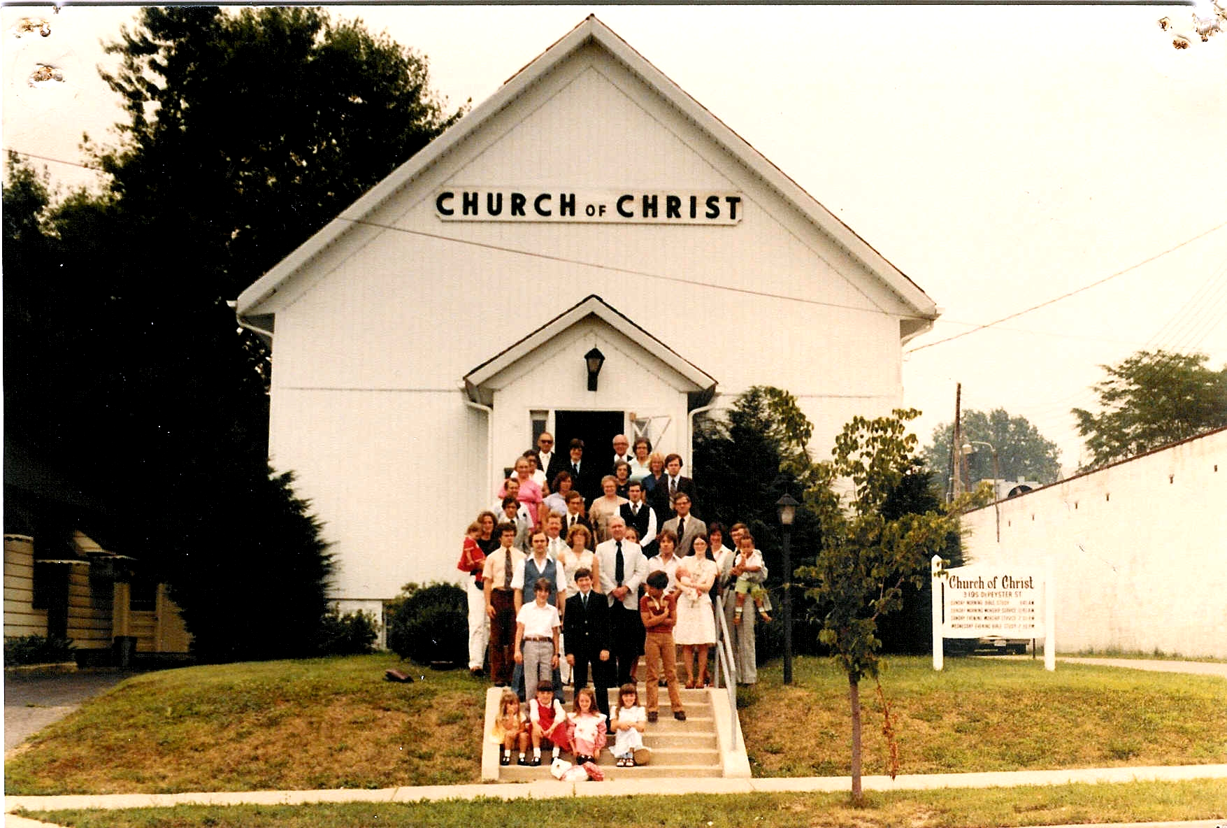 Our Church Family - 1980