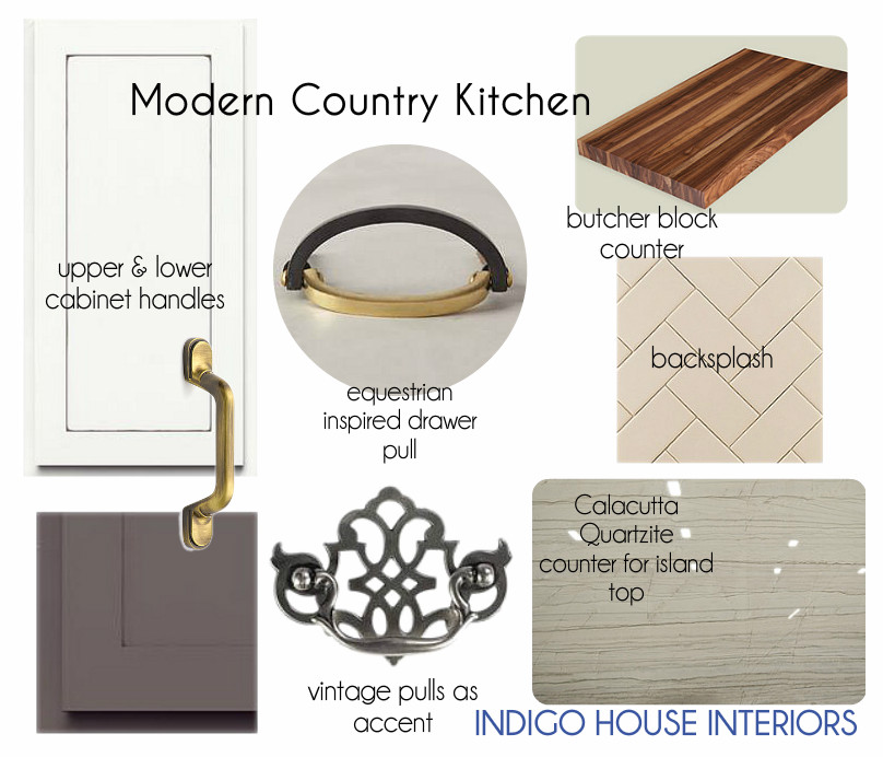 A NEW COUNTRY KITCHEN
